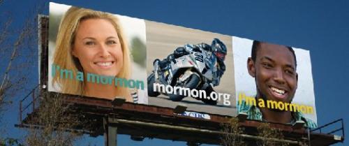 I'm a Mormon billboard